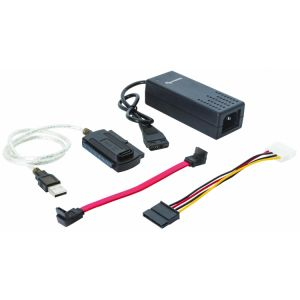 """Adaptador/convertidor USB a SATA/IDE para disco duro de 3.5"""" o 2.5"""""""