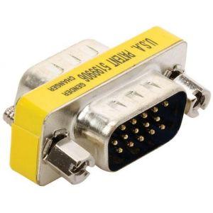 Cople con conectores plug a plug VGA (DB15H)