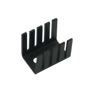 Disipador electrónico de 10 aletas para TO-220 de 20x13x16 mm