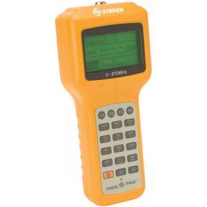 Medidor de señal portátil para CATV, TV y SUB/VHF