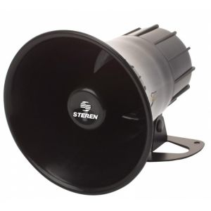 Sirena redonda de 15 Watts con 1 tono