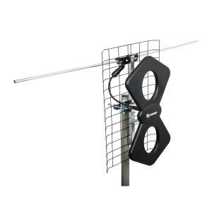 Antena aérea UHF de 2 elementos HD