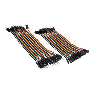 Juego de 80 cables tipo Dupont de 15 cm para proyectos Arduino