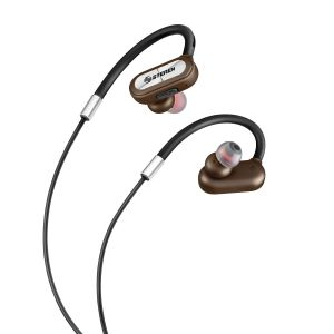 Audífonos Bluetooth sport con sujetadores ergonómicos y cable corto