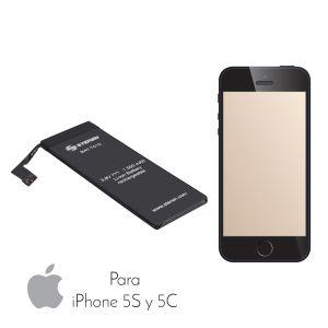 Batería de reemplazo para iPhone 5S y 5C