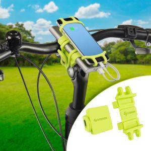 Soporte de celular y powerbank, para bicicleta
