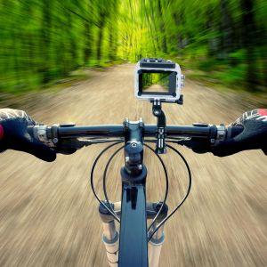 Soporte de bicicleta para cámaras deportivas