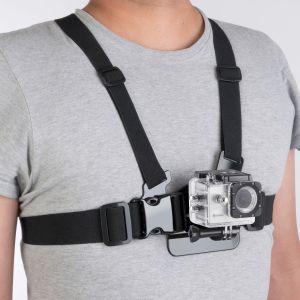 Soporte de pecho para cámaras deportivas
