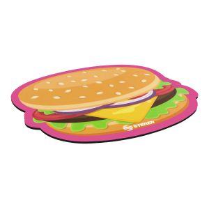 Mouse Pad de hamburguesa