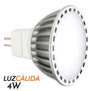 Foco dicroico LED tipo spotlight (MR16)