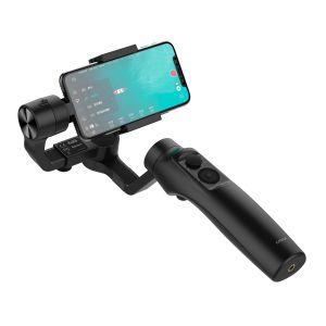 Estabilizador de 3 ejes para smartphone con cargador inalámbrico Qi