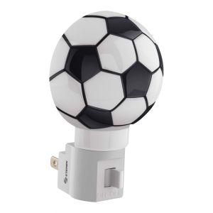 Mini lámpara LED de noche para niños, con switch en forma de balón de soccer