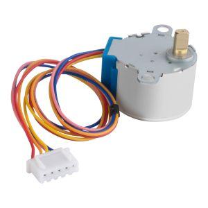 Motor a pasos de 4 líneas de control, 5 Vcc