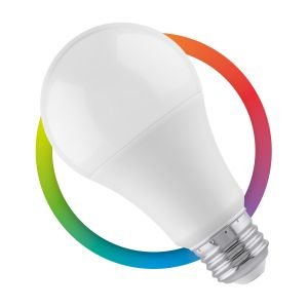 Foco LED RGB controlado por Wi-Fi, luz fría de 7W